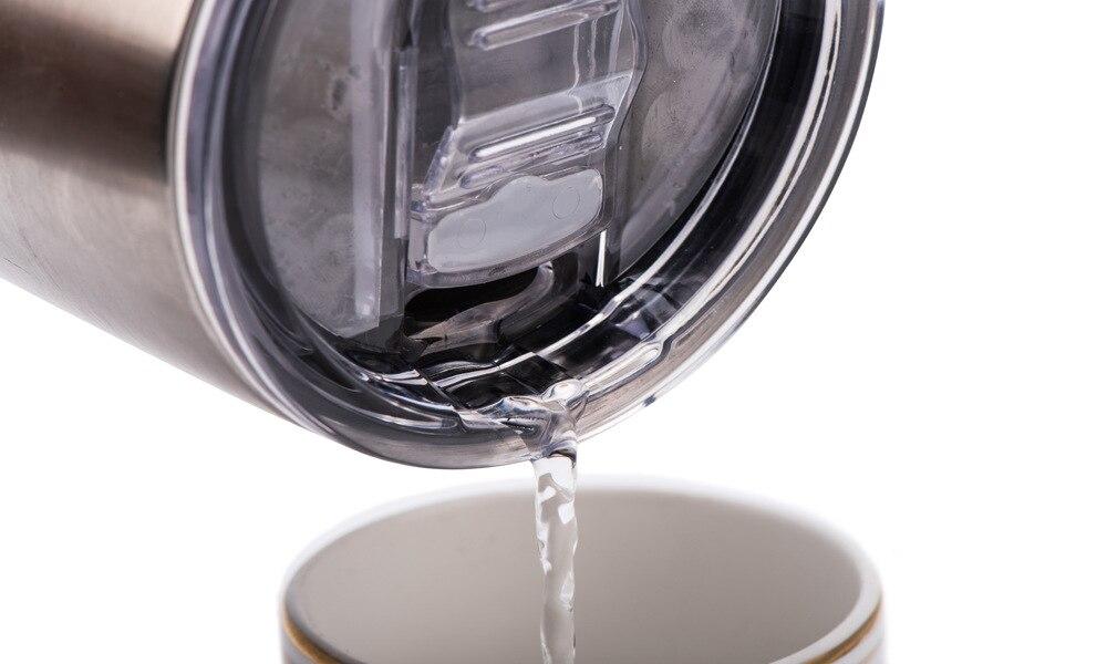 25 stücke Tumbler Deckel Freien Slider Caps Fit 20 unze 30 unze Non Spill Rutsche Splash Deckel Für Edelstahl stahl Becher bier becher-in Tassen aus Heim und Garten bei  Gruppe 3