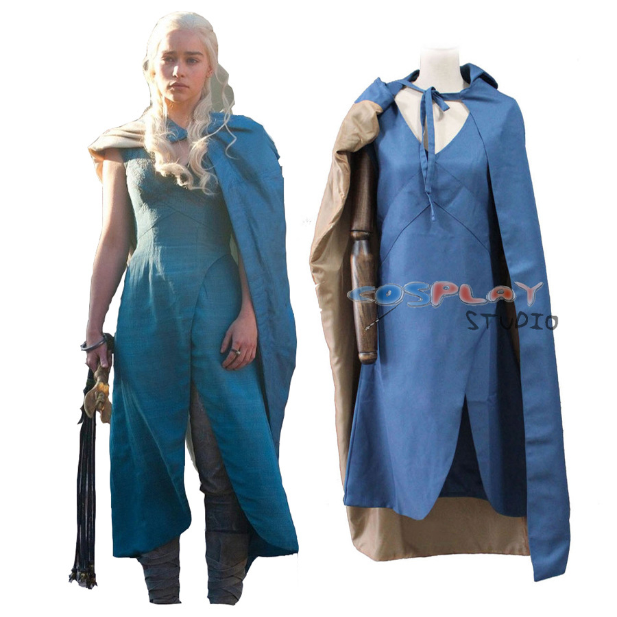 Popular Daenerys Targaryen Halloween Costume-Buy Cheap ...