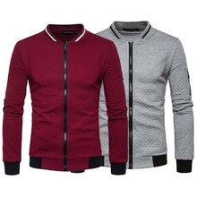 ZOGAA 2019 New Jackets Men Autumn Winter Fashion Slim Coats and Turn-down Collar Casual Brand Clothing Hot Sale