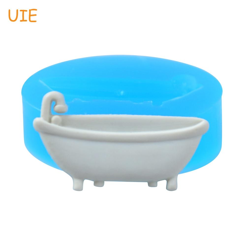 FYL565U 32.8mm Bathtub Flexible Silicone Mold Fondant, Cake ...