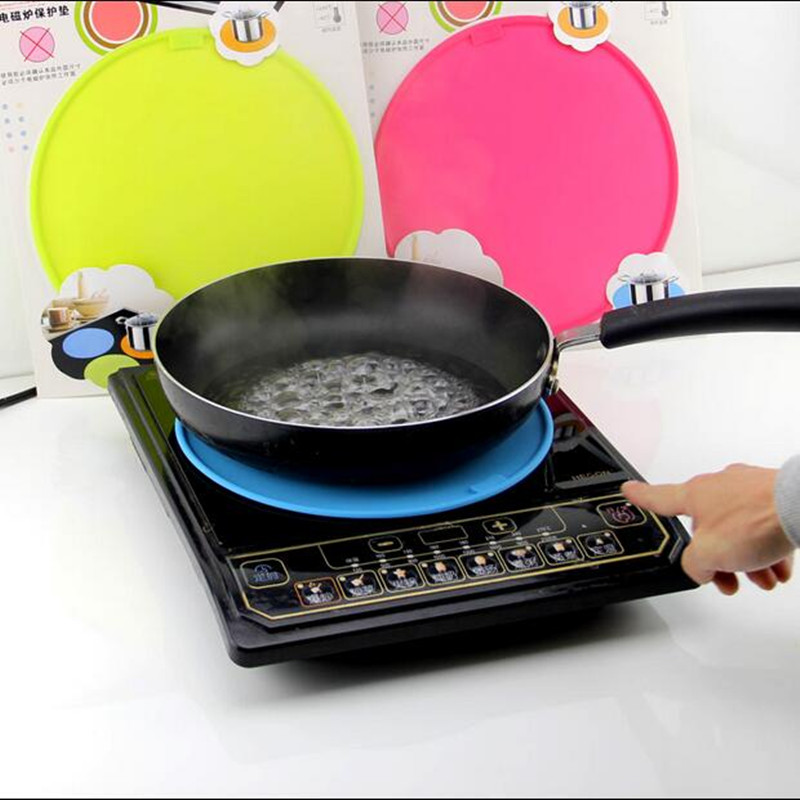 Circle High Temperature Induction Cooker Silicone Pad
