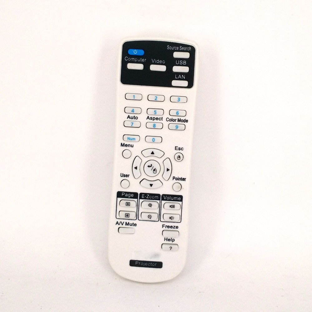Hot sale NEW Remote Control FOR Epson Projector Fernbedienung for EB-C30XE EB-30XE EB-C28SH EB-S18 EB-S4 EB-X24 EB-W bulros eb 30