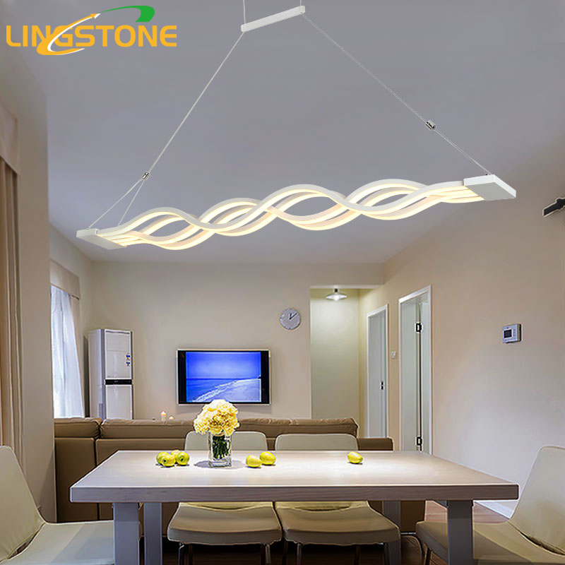 pendant light bedroom chandelier lighting lustre led pendant modern metal 12814