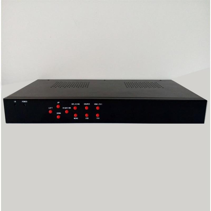 Mur vidéo de signalisation numérique construit par 3x3 processeur de mur vidéo ag 609
