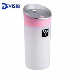DEVISIB Difusor de Óleos essenciais 300 ml Ultrasonic Aroma Difusor de Aroma Lâmpada Aromaterapia USB Carro Umidificador de Ar Fabricante de Neblina