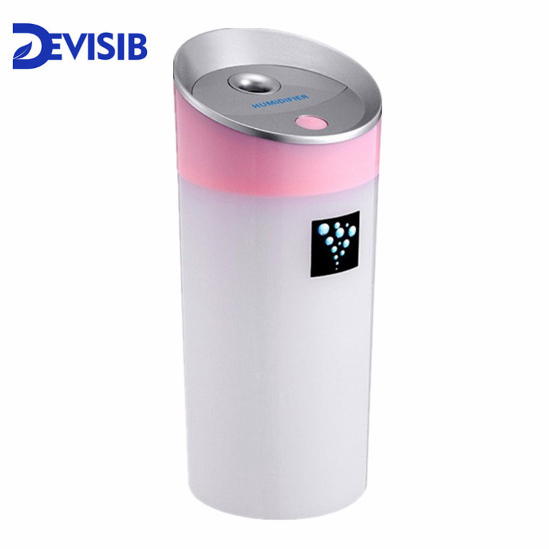 DEVISIB Essential Oil Diffuser 300ML Air Humidifier Aroma Lamp Aromatherapy USB Ultrasonic Aroma Diffuser Car Mist Maker 300ml ultrasonic mini usb air humidifier essential oil diffuser office desktop home mist maker aroma essential oil diffuser