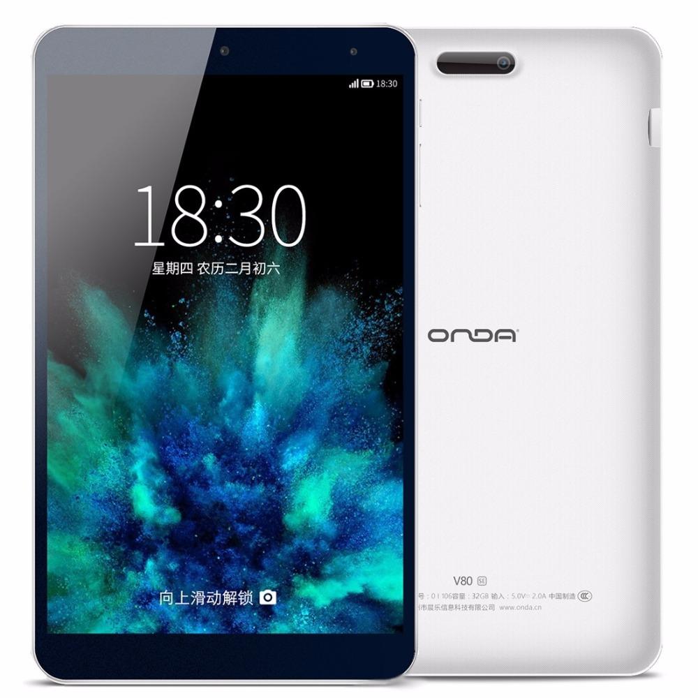 Prix pour D'origine ONDA V80 SE 8.0 pouce PC Comprimés Intel Z3735F Quad-Core 64-bit 1.83 GHz Onda ROM 2.0 Android 5.1 OS ROM 32 GB RAM 2 GB OTG