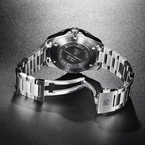 Image 4 - Pagani Mechanical Automatic Mens Watch Sport Black Fashion military waterproof Watch Men steel Male wristwatch Relogio Masculino