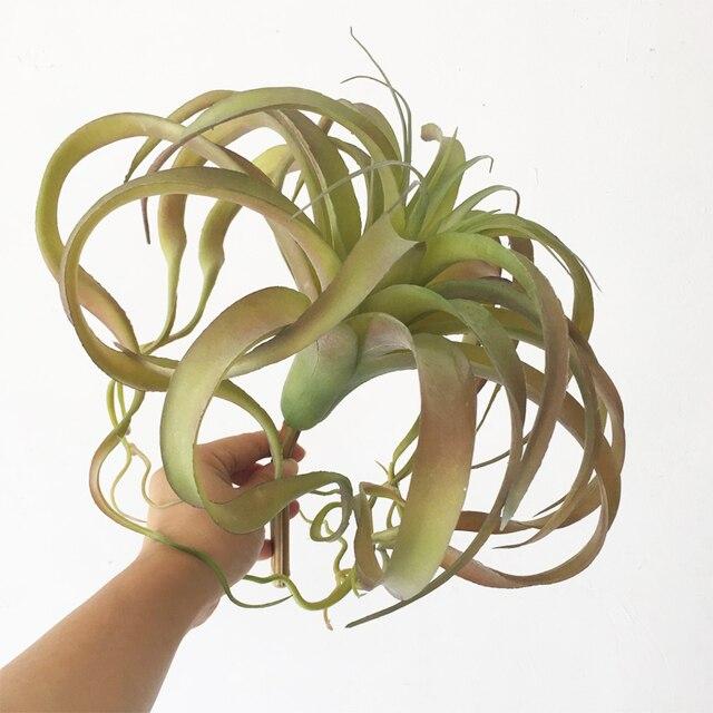 Super grande taille Steptophy nouveauté polupar faux air plante réaliste comme rouge vert pas de sol plante succulente ananas feuille