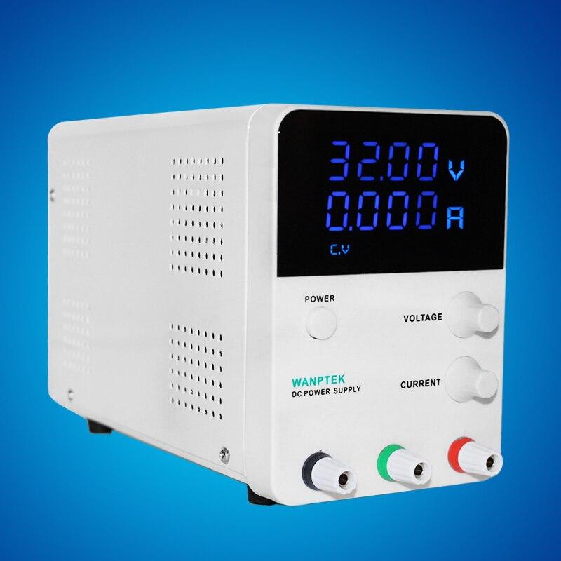 Alimentation 30V 5A monophasé réglable régulateur de tension numérique 0.01V 0.001A DC alimentation