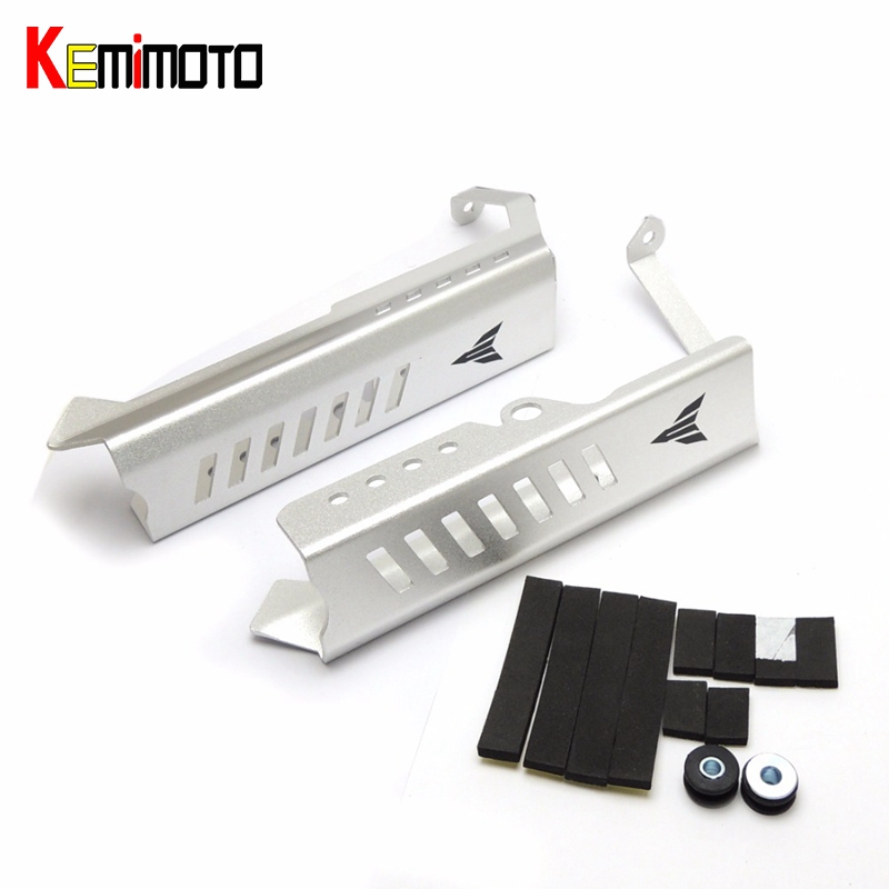 KEMiMOTO For Yamaha MT09 MT-09 MT 09 FZ09 Motorcycle Accessories Radiator Grille Guard Protector Side Covers 2014 2015 2016 for yamaha mt 09 fz 09 mt09 fz09 mt 09 fz 09 hot sale motorbike cnc motorcycle radiator side guard cover protector set