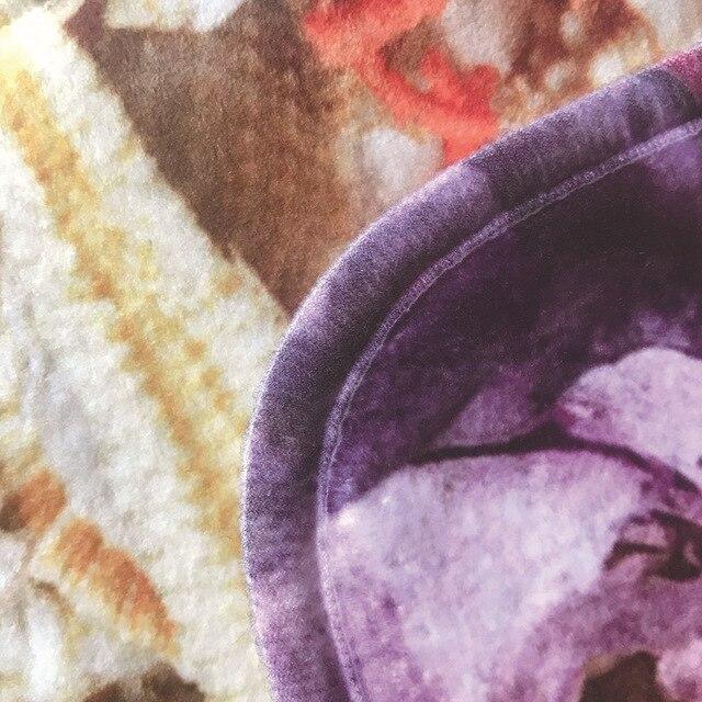 Floreale Stampato 3 pz Tappetino Da Bagno Set antiscivolo Pavimento Del Bagno Tappeti Tappeti Lavabile Bagno Set Toilette Tappeto Doccia stanza Da Bagno Tappeto