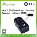 4 Piece Promise oximeter SPO2 PR PI saturometro oximetro de pulso de dedo health care fingertip pulse oximeter with CE