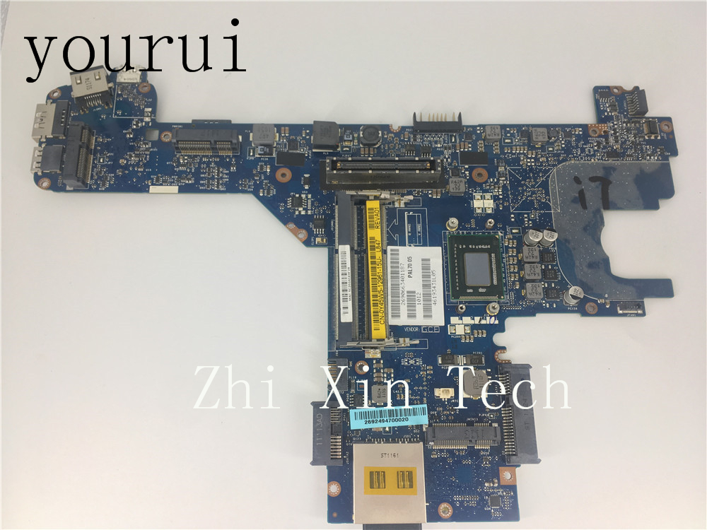 yourui For Dell Latitude E6320 Laptop Motherboard With <font><b>i7</b></font>-<font><b>2620M</b></font> CPU PAL70 LA-6611P Y45W5 0Y45W5 CN-0Y45W5 Tested Work Perfect image