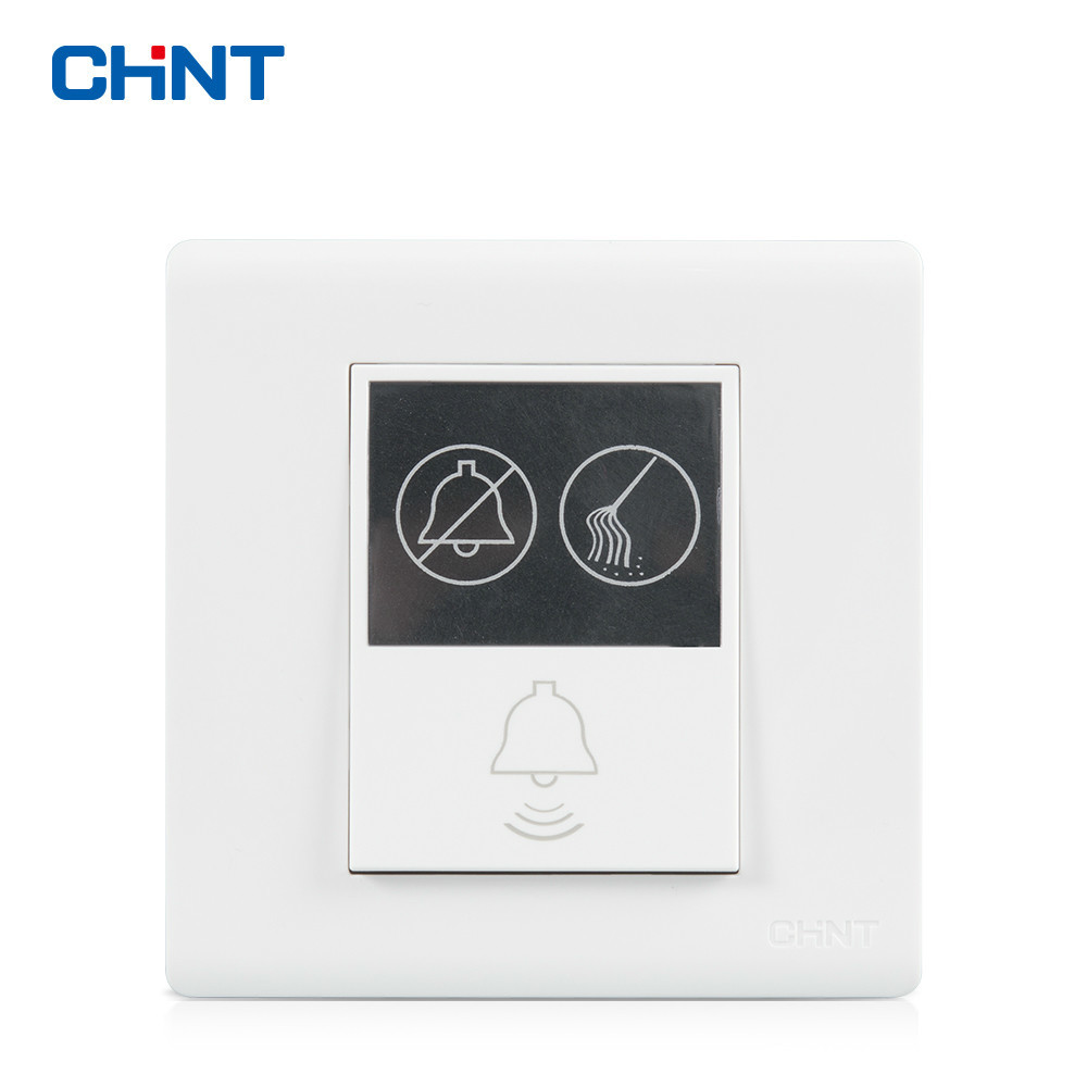 CHNT Wall Switch NEW7D Hotel Doorbell Switch Do Not Disturb Please Clean Up выключатель chnt cnht lw112 16 1