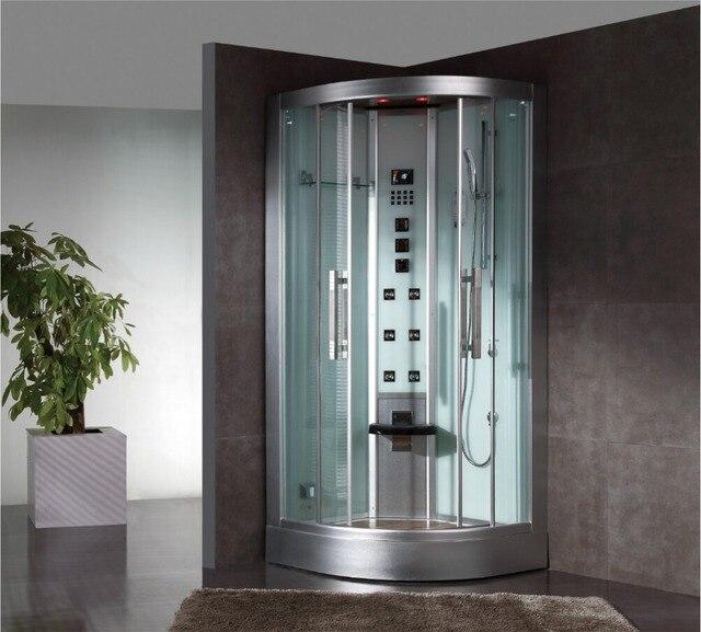 € 2256.95 |2017 nouveau design cabines de douche à vapeur de luxe salle de  bains cabines de douche à vapeur massage à jets chambres de sauna à pied ...