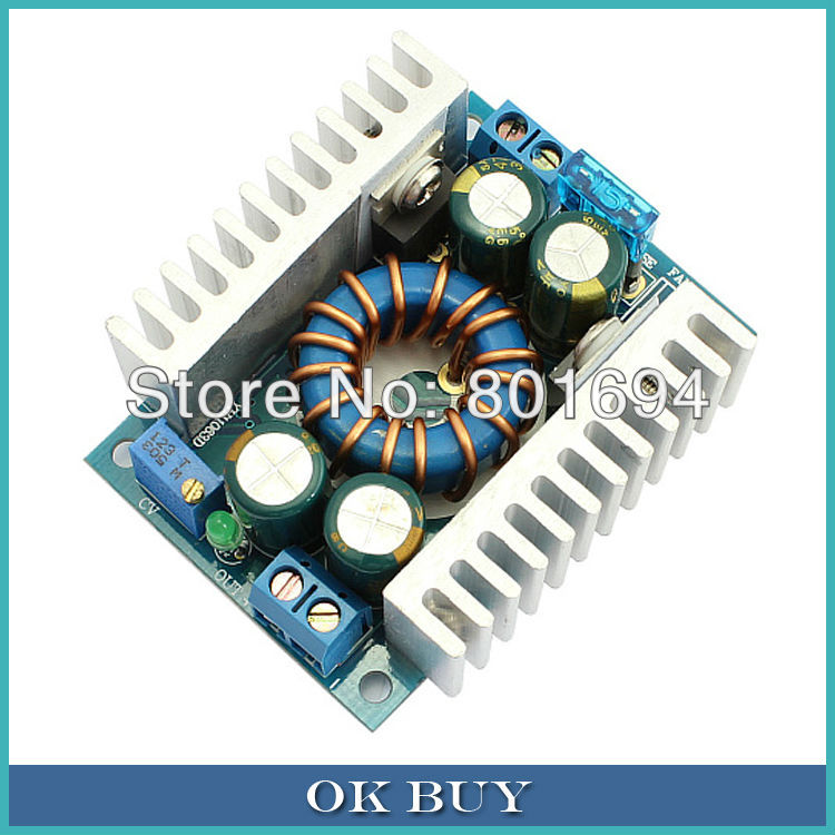 цена на 150W High Power Boost Converter DC 8V-32V to DC 9V-46V 8A Adjustable 12V 24V Step Up Voltage Power Supply Module