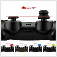IVYUEEN 2 pcs Silicone Analog Grip Thumbstick Thumb Sticks Extra Cover High Enhancements For Dualshock 4 PS4 Pro Slim Controller 5
