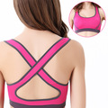 Feitong Hot ! 11 Colors !New Women Padded Top Vest Bra Stretch Half-length Underwear Free Shipping