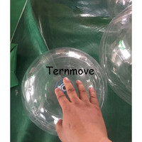 inflatable Hanging Decorations Ball Transparent Open pvc Clear bubble ball Ornament Kids Favors Party Supplies for show Window