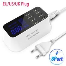 8 portów wielofunkcyjna ładowarka usb HUB Quick Charge 3.0 ładowarka do telefonu inteligentna stacja ładująca do telefonu stacja dokująca do smartfona Samsung 9