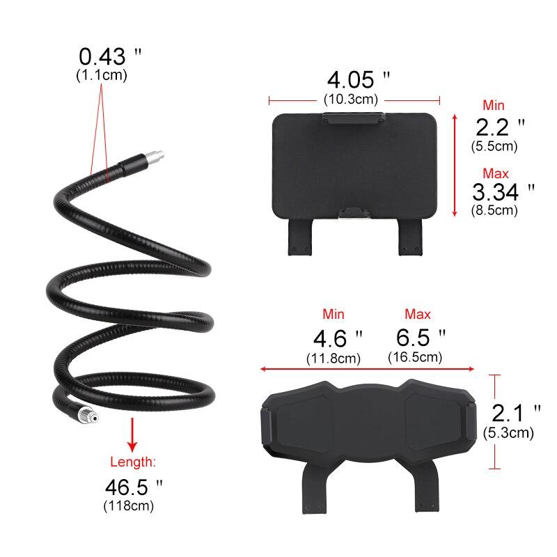 Flexibel mobiltelefonhållare Hanging Neck Lazy Necklace Bracket - Reservdelar och tillbehör för mobiltelefoner - Foto 3