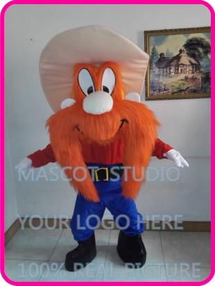 mascot looney tunes yosemite sam mascot costume custom fancy costume anime cosplay kits mascotte carnival costume - Yosemite Sam Halloween Costume