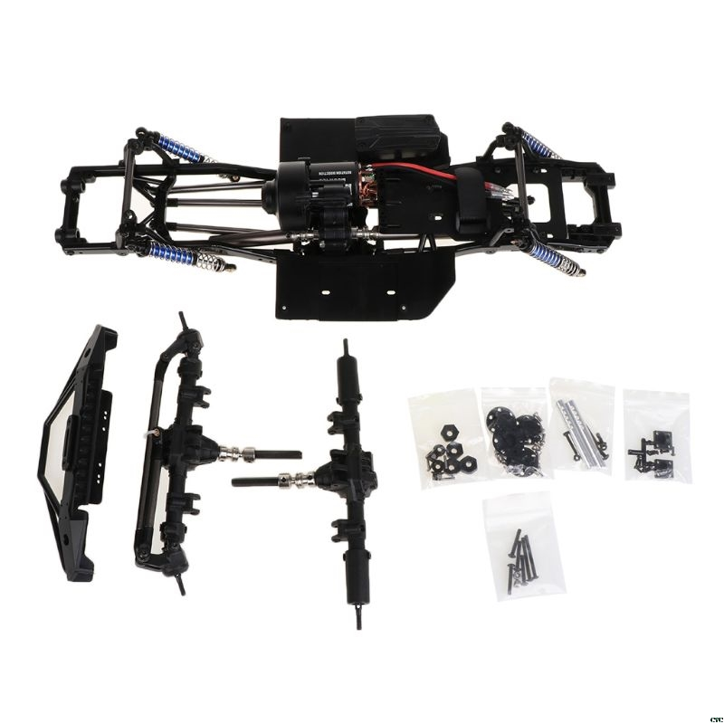 313mm 12 3 Inch Wheelbase Chassis for 1 10 RC Crawler SCX10 II 90046 90047 RC