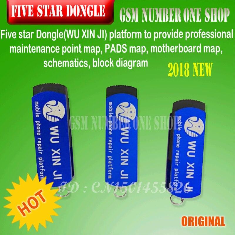 呉新智 Wuxinji Fivestar ドングル Iphone サムスンロジックボードマザーボード回路図図修正修復はんだステーション