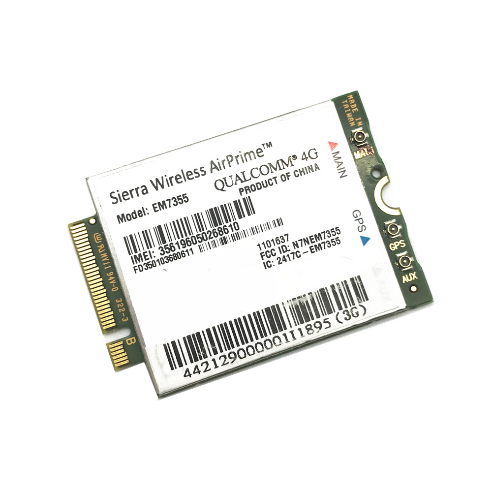 EM7355 Gobi5000 Sierra Wireless Card LTE/EVDO/HSPA NGFF 3G/4G Module For DELL Asus Sony Toshiba Model