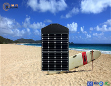 60W solar system high efficiency flexible and portable solar charger with controller