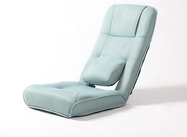 Floor Folding Adjustable Recliner Chair Living Room Furniture Japanese Relax  Leisure Cushion Seating Lounge Chair Seat Grey/Blue In Living Room Chairs  From ...