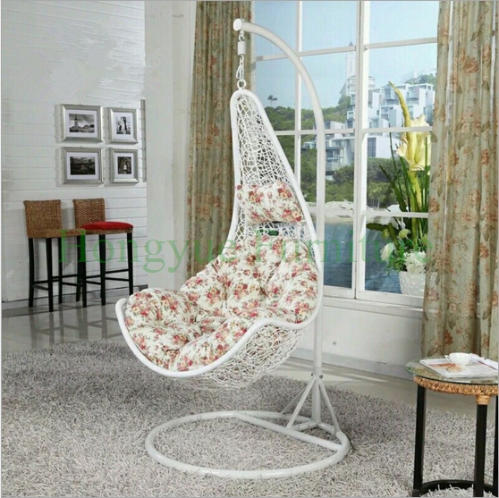 Aliexpress.com : Buy White Rattan Hanging Hammock Chair With Cushions  Designs From Reliable Chair Design Suppliers On Hongyue Cane Skill Furniture