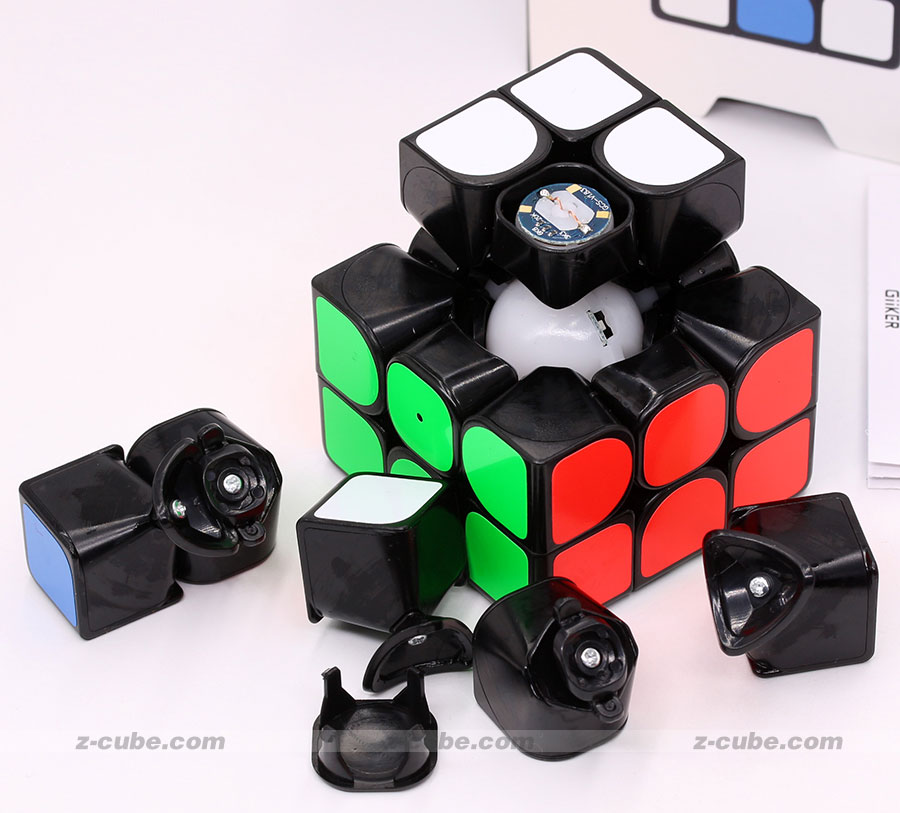 Cube magique puzzle 2019 mise à jour Version originale Xiaomi Giiker super i3S AI Intelligent Intelligent magnétique Bluetooth APP super cube z - 3