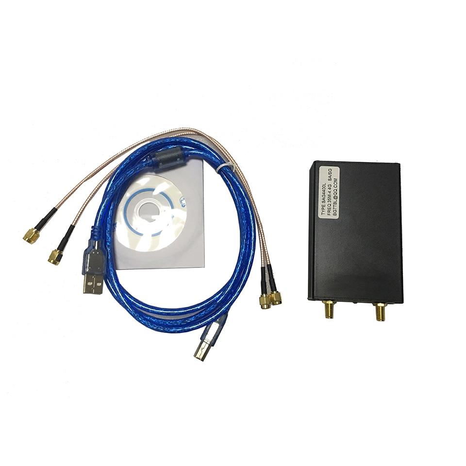 35M 4 4G 1K USB SMA Signal Source Generator Simple Spectrum Analyzer SAG4400L