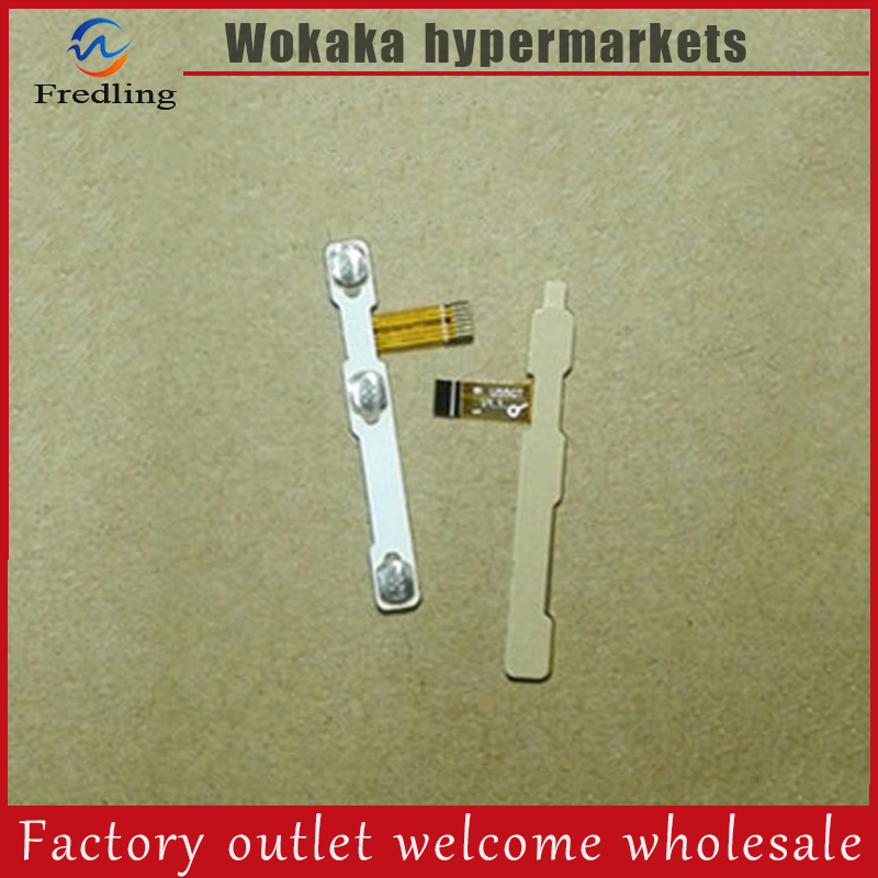 Original switch on off Power Volume button Flex cable For CUBE U55GT TALK79 conductive flex with sticker replacement parts original switch on off power