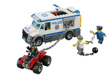 BELA City Police Prisoner Transporter Building Blocks Classic For Girl Boy Kids Model Toys  Marvel Compatible Legoe