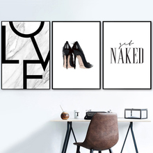 Sexy Girl Nail Polish Quotes Love Wall Art Canvas Painting Nordic Posters And Prints Wall Pictures For Living Room Salon Decor fashion perfume flower quotes wall art canvas painting nordic posters and prints wall pictures for living room girl salon decor