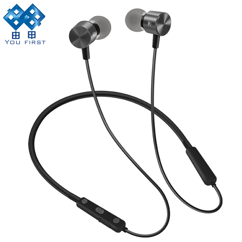 YOU FIRST Wireless Headphone Bluetooth Earphone Sport Stereo Neckband Bluetooth Headset With Micorphone kulaklik For Phone