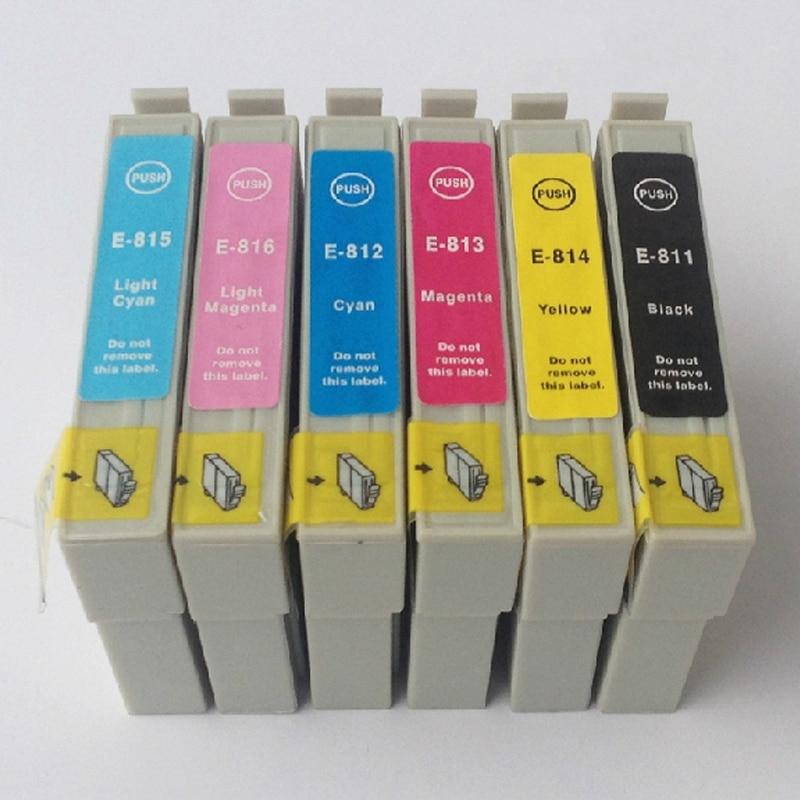 Купить чернильный картридж vilaxh t0811 для epson  t0816 stylus photo
