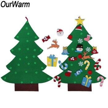 Deko Weihnachten 2019.Ourwarm Diy Filz Weihnachten Baum Kinder Weihnachten Baum Dekoration