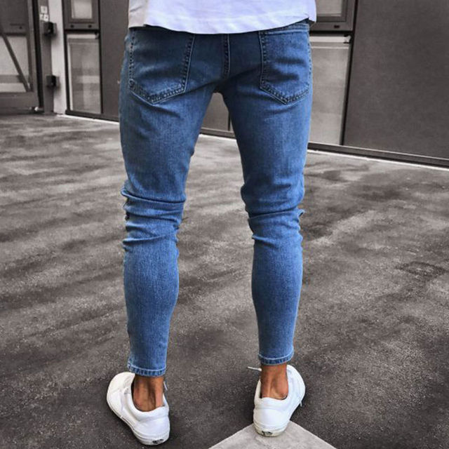 Embroidered Fashion Street Jeans 6