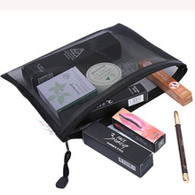 Casual Travel Cosmetic Bag Women Zipper Make Up Transparent Makeup Case Organizer Storage Pouch Toiletry Beauty Wash Kit Bags Ra casual fruit canvas drawstring small cosmetic bag travel make up case organizer storage makeup pouch toiletry beauty wash kit