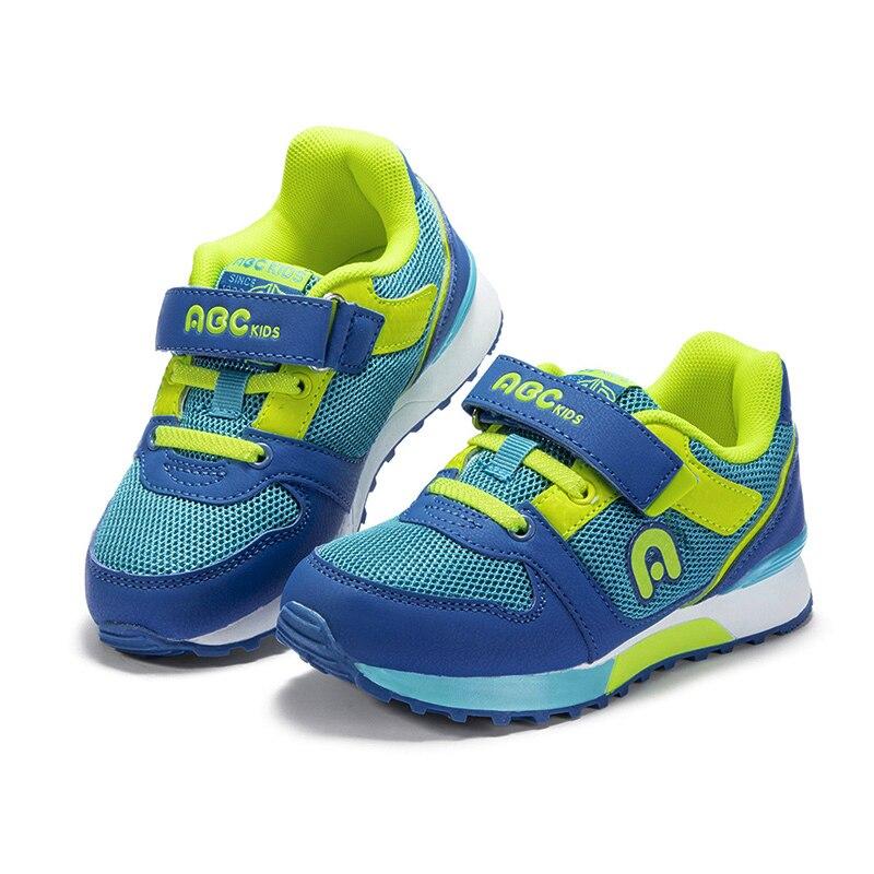 ABC enfants enfants chaussures décontractées à la mode Net respirant garçon fille semelle souple sport baskets - 4