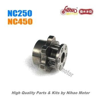 83 NC450 embrague de disco de fricción placa (8 piezas) motor ZONGSHEN NC  RX4 ZS194MQ (Nihao Motor)