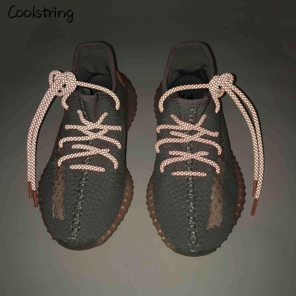 Coolstring крутой изюминкой 3 м круглые светоотражающие шнурки для обуви атлетические безопасные кроссовки с шнурками для ночного бега Bootlace Latchet|Шнурки|   | АлиЭкспресс