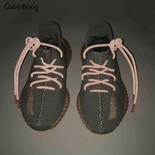 Coolstring Cool Highlight 3M Ronde Reflecterende Schoenveters Athletic Veiligheid Sneakers Schoenveters Night Walk Running Schoenveter Latchet(China)