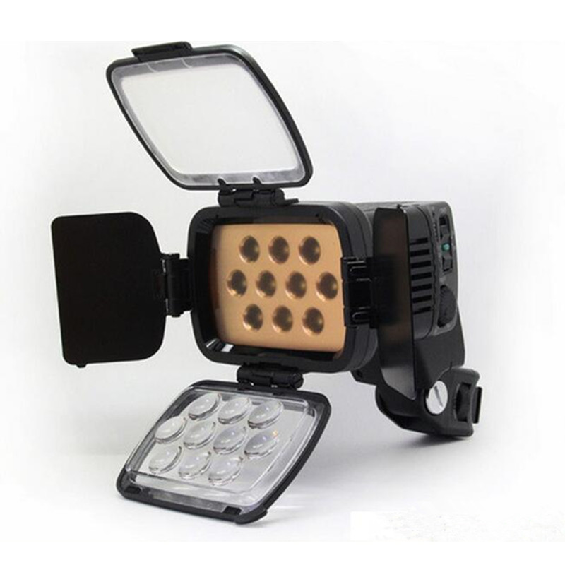 1PCS LBPS1800 LED-LBPS1800 20W LED Camcorder DV Video Light with Filters for Camera camcorder Led light, with BATTERY godox led 308y 308 leds professional led video 3300k light with remote control for canon nikon camera dv camcorder