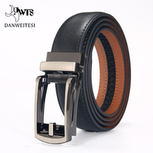 [DWTS]Fashion Men Automatic Buckle Leather luxury Belts Busi