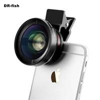 Professional HD Camera Lens Kit 0 45X Super Wide Angle 12 5X Macro Lens Clip On